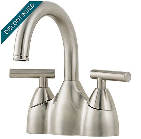 Brushed Nickel Contempra Centerset Bath Faucet - 048-NK00 - 1