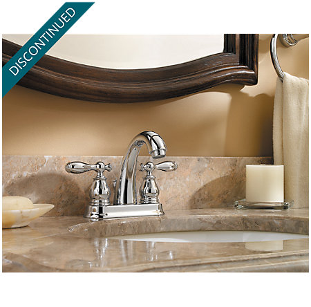 Polished Chrome Unison Centerset Bath Faucet - 048-UNCC - 2