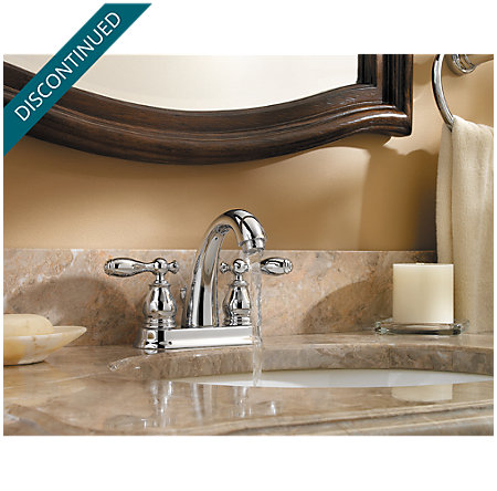 Polished Chrome Unison Centerset Bath Faucet - 048-UNCC - 3