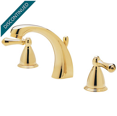Polished Brass Parisa Widespread Bath Faucet - 049-A0XP - 2
