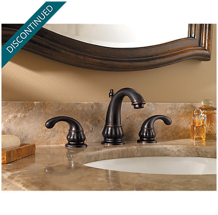 Tuscan Bronze Treviso Widespread Bath Faucet - 049-DY00 - 2