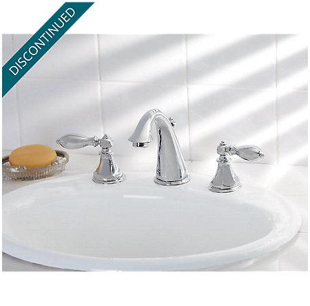 Polished Chrome Catalina Widespread Bath Faucet - 049-E0BC - 2