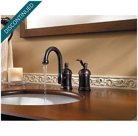 Tuscan Bronze Amherst Widespread Bath Faucet - 049-HA1Y - 3