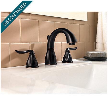 Tuscan Bronze Sedona Widespread Bath Faucet - 049-LT0Y - 2