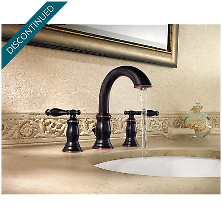 Tuscan Bronze Hanover Widespread Bath Faucet - 049-TMYY - 2
