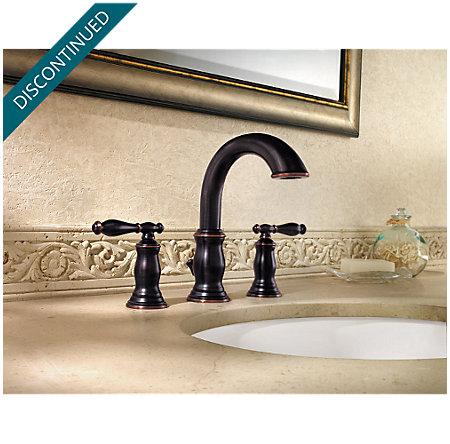 Tuscan Bronze Hanover Widespread Bath Faucet - 049-TMYY - 3