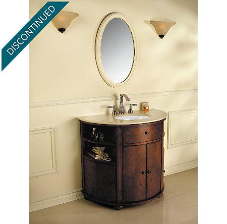 Brushed Nickel Virtue Widespread Bath Faucet - 049-VTKK - 4