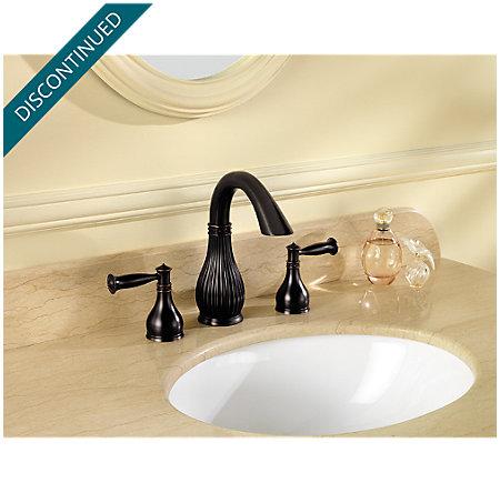 Tuscan Bronze Virtue Widespread Bath Faucet - 049-VTYY - 2