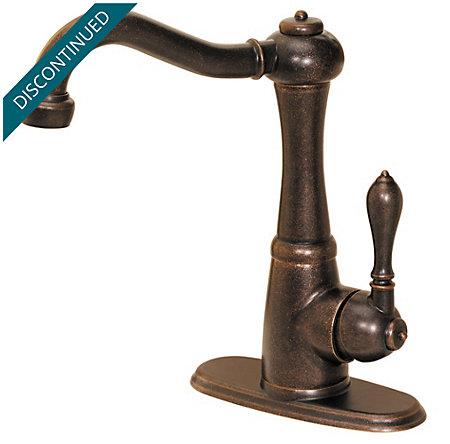 Rustic Bronze Marielle  Kitchen Faucet - 072-M1UU - 1
