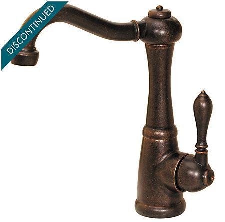 Rustic Bronze Marielle  Kitchen Faucet - 072-M1UU - 2