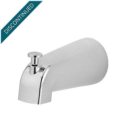 polished chrome pfirst series standard tub spouts - 115-250a - 1