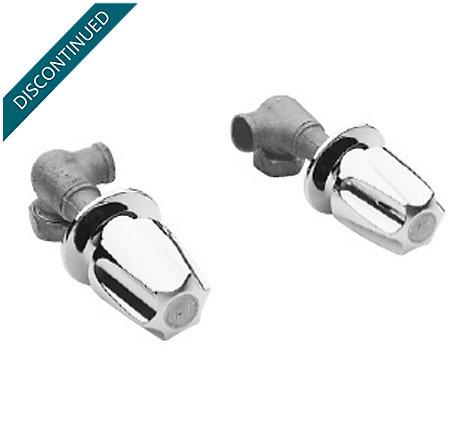 Polished Chrome Single Handle Shower Valves - 013-0110 - 1