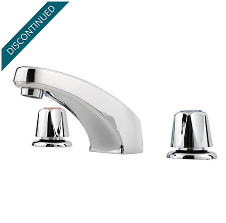 Polished Chrome Pfirst Series Widespread Bath Faucet - 149-6000 - 1