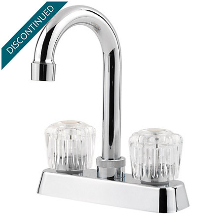Polished Chrome Pfirst Series  Kitchen Faucet - 171-4100 - 1