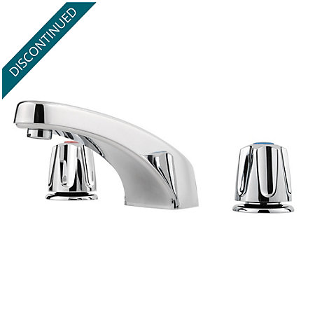 Polished Chrome Pfirst Series 3 Hole Roman Tub - 1T6-4000 - 1