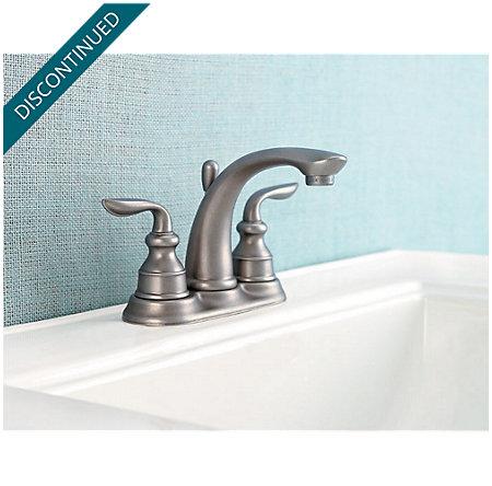 Rustic Pewter Avalon Centerset Bath Faucet - 048-CB0E - 2