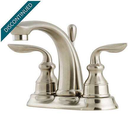 Brushed Nickel Avalon Centerset Bath Faucet - 048-CB0K - 1