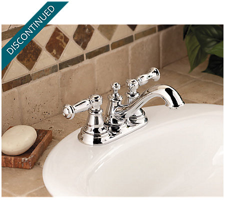Polished Chrome Bristol Centerset Bath Faucet - 048-CT0C - 2