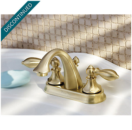 Polished Brass Catalina Centerset Bath Faucet - 048-E0BF - 2