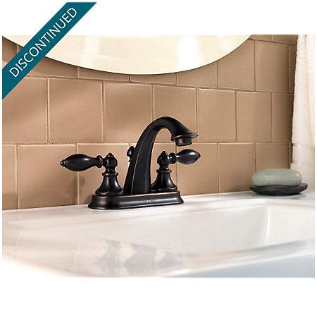 Tuscan Bronze Catalina Centerset Bath Faucet - 048-E0BY - 4