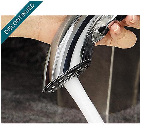 Polished Chrome Parisa 1-Handle, Pull-Out Kitchen Faucet - 534-70CC - 10