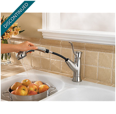 Stainless Steel Picardy 1-Handle, Pull-Out Kitchen Faucet - 534-7RDS - 5