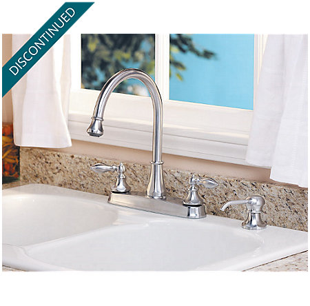Stainless Steel Catalina 2-Handle, Pull-out/Pull-Down Kitchen Faucet - 536-EPBS - 2