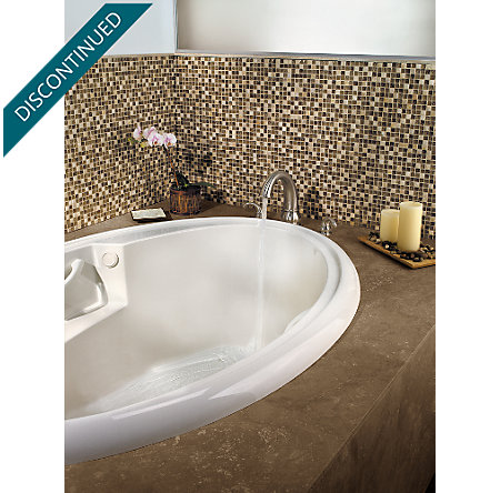 Tuscan Bronze Treviso 3 Hole Roman Tub - 806-DY10 - 3