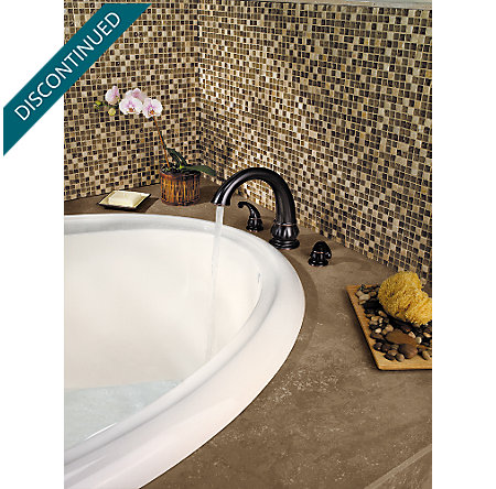 Tuscan Bronze Treviso 3 Hole Roman Tub - 806-DY10 - 6