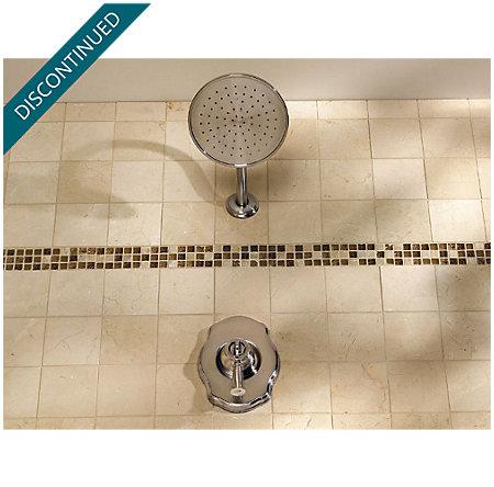 Brushed Nickel Virtue Tub & Shower Combo - 808-VTKK - 3