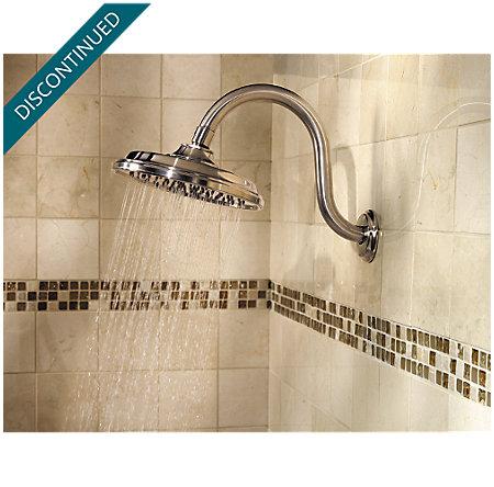 Brushed Nickel Virtue Tub & Shower Combo - 808-VTKK - 6