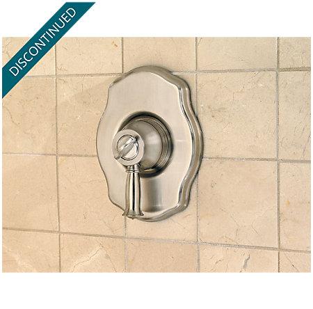 Brushed Nickel Virtue Tub & Shower Combo - 808-VTKK - 7