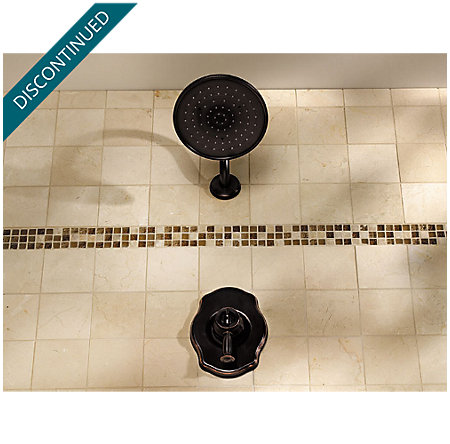 Tuscan Bronze Virtue Tub & Shower Combo - 808-VTYY - 3