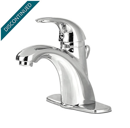 Polished Chrome Parisa Single Control, Centerset Bath Faucet - T42-ANFC - 1