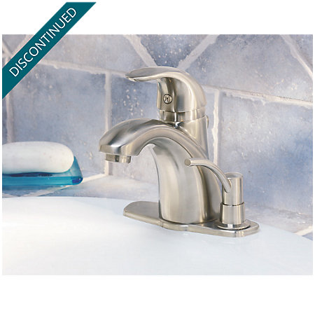 Brushed Nickel Parisa Single Control, Centerset Bath Faucet - 8A2-VKSP - 2