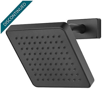 Black Kenzo Raincan Showerhead - 973-036B - 1
