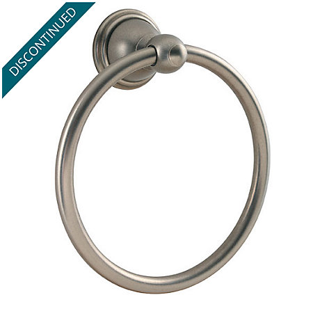 Rustic Pewter Conical Towel Ring - BRB-C0EE - 1