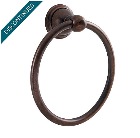 Rustic Bronze Conical Towel Ring - BRB-C0UU - 1