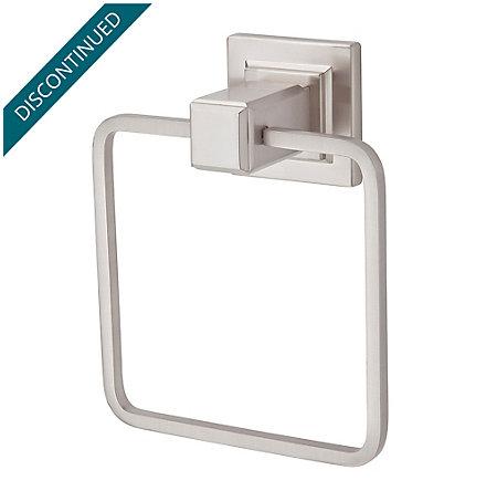 Brushed Nickel Carnegie Towel Ring - BRB-WE1K - 1