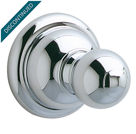 Polished Chrome Georgetown Robe Hook - BRH-B0CC - 1