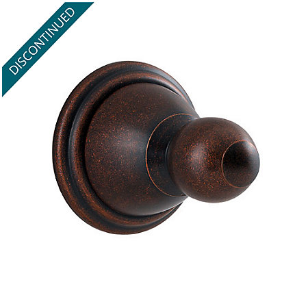 Rustic Bronze Conical Robe Hook - BRH-C0UU - 1