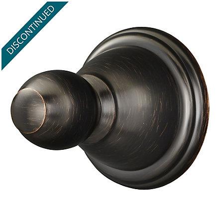 Tuscan Bronze Conical Robe Hook - BRH-C0YY - 1