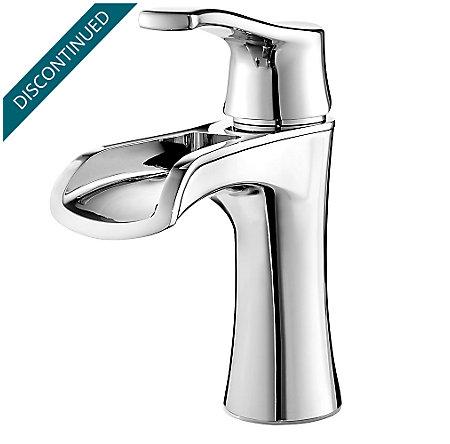Polished Chrome Aliante Single Control, Centerset Bath Faucet - F-042-ATCC - 1