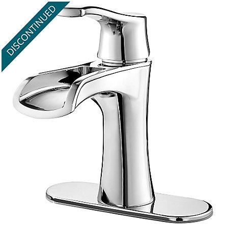 Polished Chrome Aliante Single Control, Centerset Bath Faucet - F-042-ATCC - 2