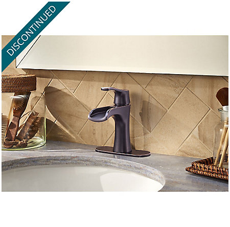 Tuscan Bronze Aliante Single Control, Centerset Bath Faucet - F-042-ATYY - 4