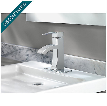 Polished Chrome Bernini Single Control, Centerset Bath Faucet - F-042-BNCC - 3