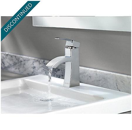Polished Chrome Bernini Single Control, Centerset Bath Faucet - F-042-BNCC - 5