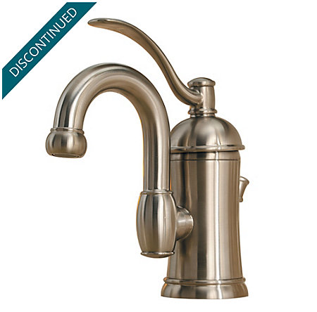 Brushed Nickel Amherst Single Control, Centerset Bath Faucet - F-042-HAK0 - 1