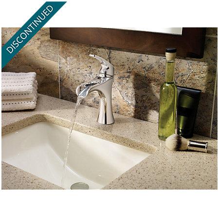 Polished Chrome Jaida Single Control, Centerset Bath Faucet - F-042-JDCC - 3