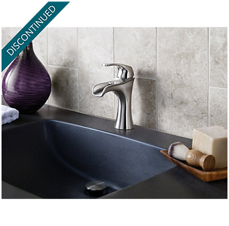 Brushed Nickel Jaida Single Control, Centerset Bath Faucet - F-042-JDKK - 4